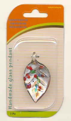120424206 Handgemaakte glazen hanger