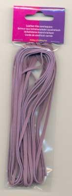 120050010 Leder like cord  Lila