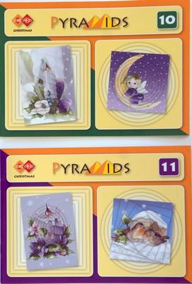 2 Pyramids boekjes nr. 10 en Nr. 11