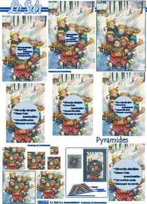 630014 Le Suh Pyramids kinderen