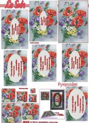 630016 Le Suh Pyramids bloemen