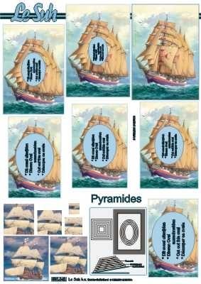 630042 Le Suh Pyramids zeischip