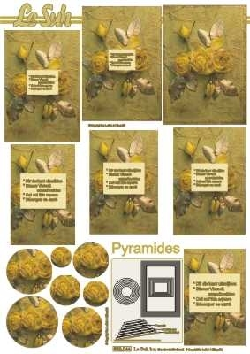 630044 Le Suh Pyramids bloemen