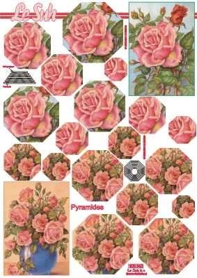 630043 Le Suh Pyramids bloemen
