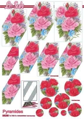 630049 Le Suh Pyramids bloemen