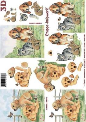 4169233 LeSuh 3d Puppies/kittens