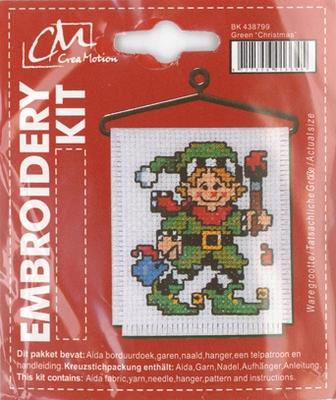 BK438799 Borduurpakket Kerst  elf
