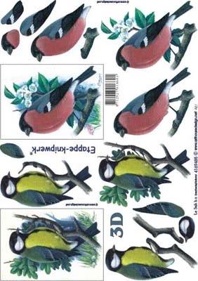 4169485 LeSuh 3D Vogels
