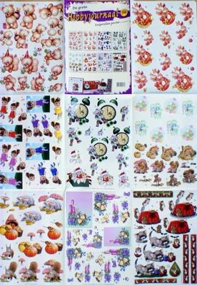 3D Poster Hobbyjournaal 56 (8 knipvellen)