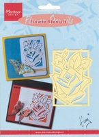 EE3439 - Marianne Design Tiny's Bloemen Stencil Roos