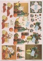 VB0025 Bloemen/Fruit