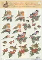 NS37  Studio light Natural Seasons Vogels