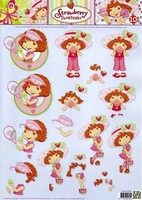 STAPSTRAW10 Strawberry Shortcake Studio Light