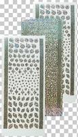 617162 Leane Creatief stickers Diamond Zilver Kerst