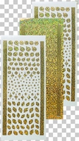 617155 617162 Leane Creatief stickers Diamond Gold Kerst