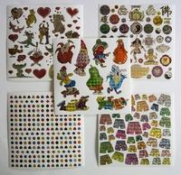 5 Leuke stickers serie 2G Afm 15 X 15 Cm