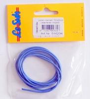 516234 Leerkoord 1 meterX2mm L.Blauw