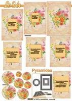 630052 Le Suh Pyramids bloemen