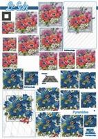 630076 Le Suh Pyramids bloemen