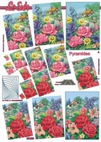 630085 Le Suh Pyramids bloemen