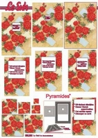 630090 Le Suh Pyramids bloemen