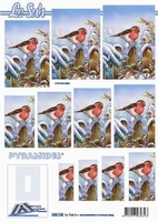 630138 Le Suh Pyramids vogels