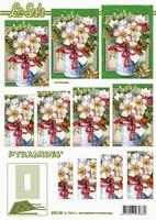 630146 Le Suh Pyramids bloemen