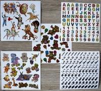 5 Leuke stickers serie 3G Afm 15 X 15 Cm