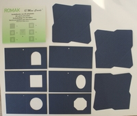 K412225 Minicards blauw
