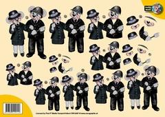 CW10007 Creddy world Politie