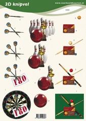 VB2080 Darts/,Bowling/,Biljart
