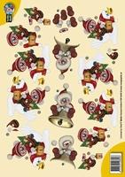 CW10045 Creddy World  Kerst