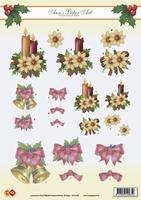 CD10109 Carddeco Ann's Paper Art Kerst