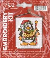 BK438299 Borduurpakket Kerst Pinguin
