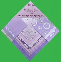 Handmade Paper Lilac