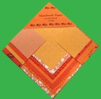 Handmade Paper Orange