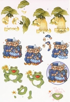BO68 Frog/Farmers couple