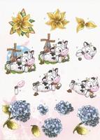 BO70 Flowers/Cows