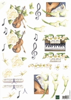 MB0103 Marianne  Bloemen/Muziek