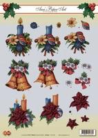 CD10164 Carddeco Ann's Paper Art Kerst