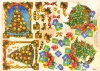 TBZ564105 Embossed Kerst