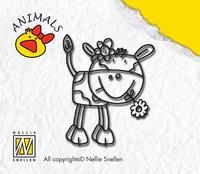 ANI003 Nellie Snellen Stempel Cow Girl