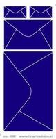 ST233TZ Sticker  Enveloppen  Transparant Zilver