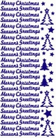 ST530G Sticker Merry Christmas Goud