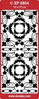 XP6804HZ Stickers Div.Ornamenten -  Hol. Smoke