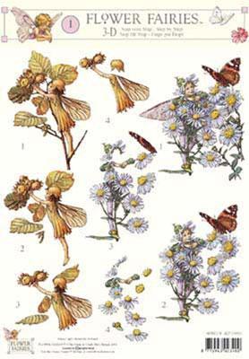 3DFFSTAP01 Studio Light Flower Fairies 01