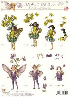 3DFFSTAP08 Studio Light Flower Fairies 08