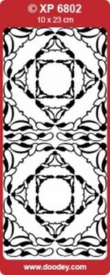 XP6802HP Sticker Ornamenten Holografische-Paars
