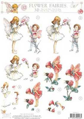 3DFFSTAP12 Studio Light Flower Fairies 12