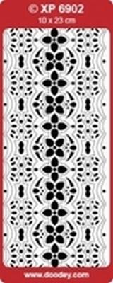 XP6902GE Sticker Ornamenten - Geel